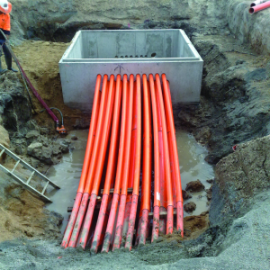 Concrete Electrical Pits